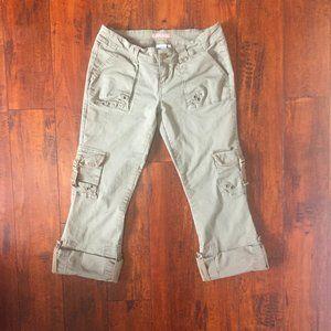 Vintage Cargo Bootcut or Capri Pants